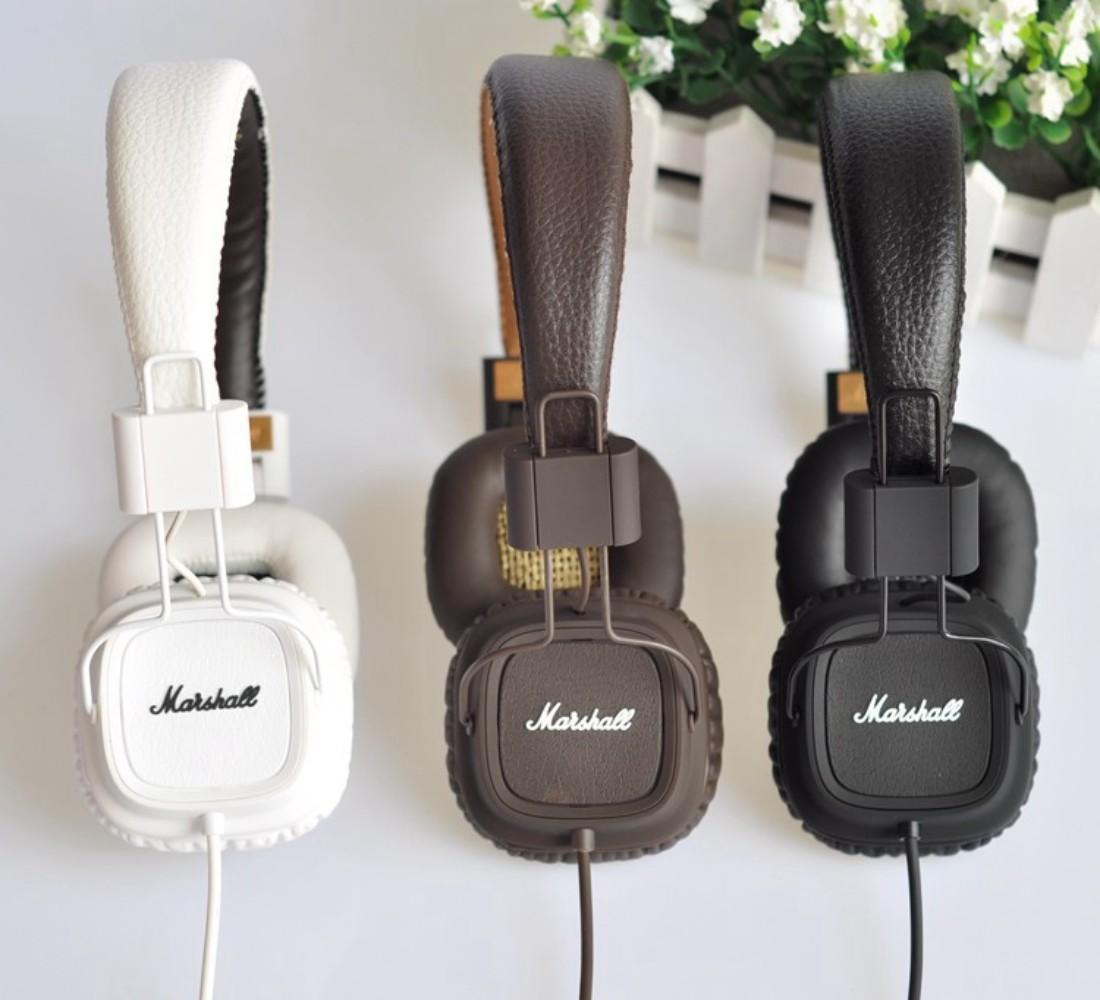마샬 메이저2 메이저3 무선 유선 블루투스 헤드폰 Marshall Major3 2, One Generation Boxed Black Brown White (해외판)