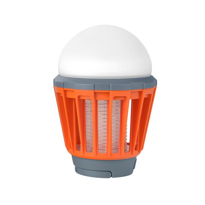 캠핑랜턴 가정용 모기퇴치기 LED 해충킬러, 오랜지
