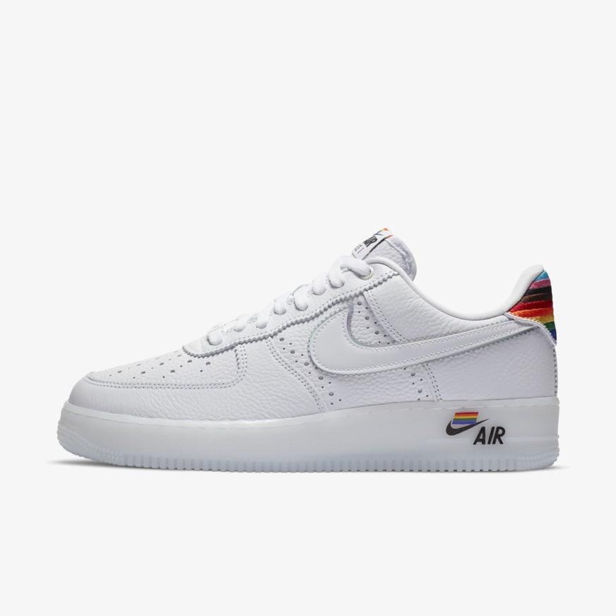 나이키 [공식판매처] 에어포스1 로우 비 트루 2020 화이트 Nike Air Force 1 Low Be Tru CV0258-100 류씨네편집샵