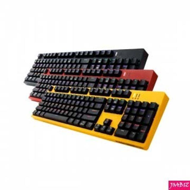 총알무료배송] K660카일 광축 레인보우LED Yellow 바디 Black키캡 PC디지털기기 PC키보드 멀티키보드, 본상품_단일상품입니다, 상세설명을 참조해주세요