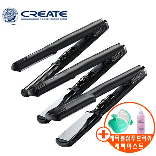 그리에이트 MAGIC MirrorII 티타늄 매직기 볼륨 고데기 사은품증정 전문가용, 미디움형 M, 그리에이트 티타늄