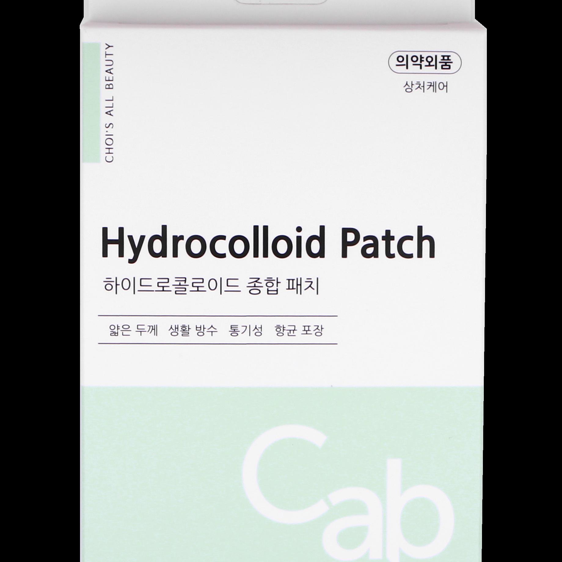 바이초이 여드름패치 하이드로콜로이드 스팟패치 의약외품 초밀착형 25p 1매, 100 p (25p x 4매) (POP 5649700838)