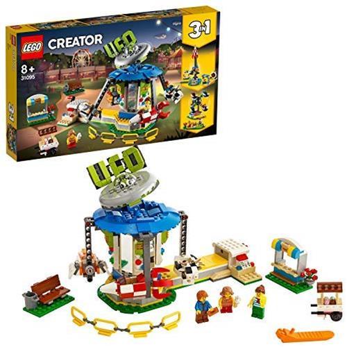 레고 크리에이터 유원지의 스페이스 라이드 31095 블럭 장난감 소녀 본품선택