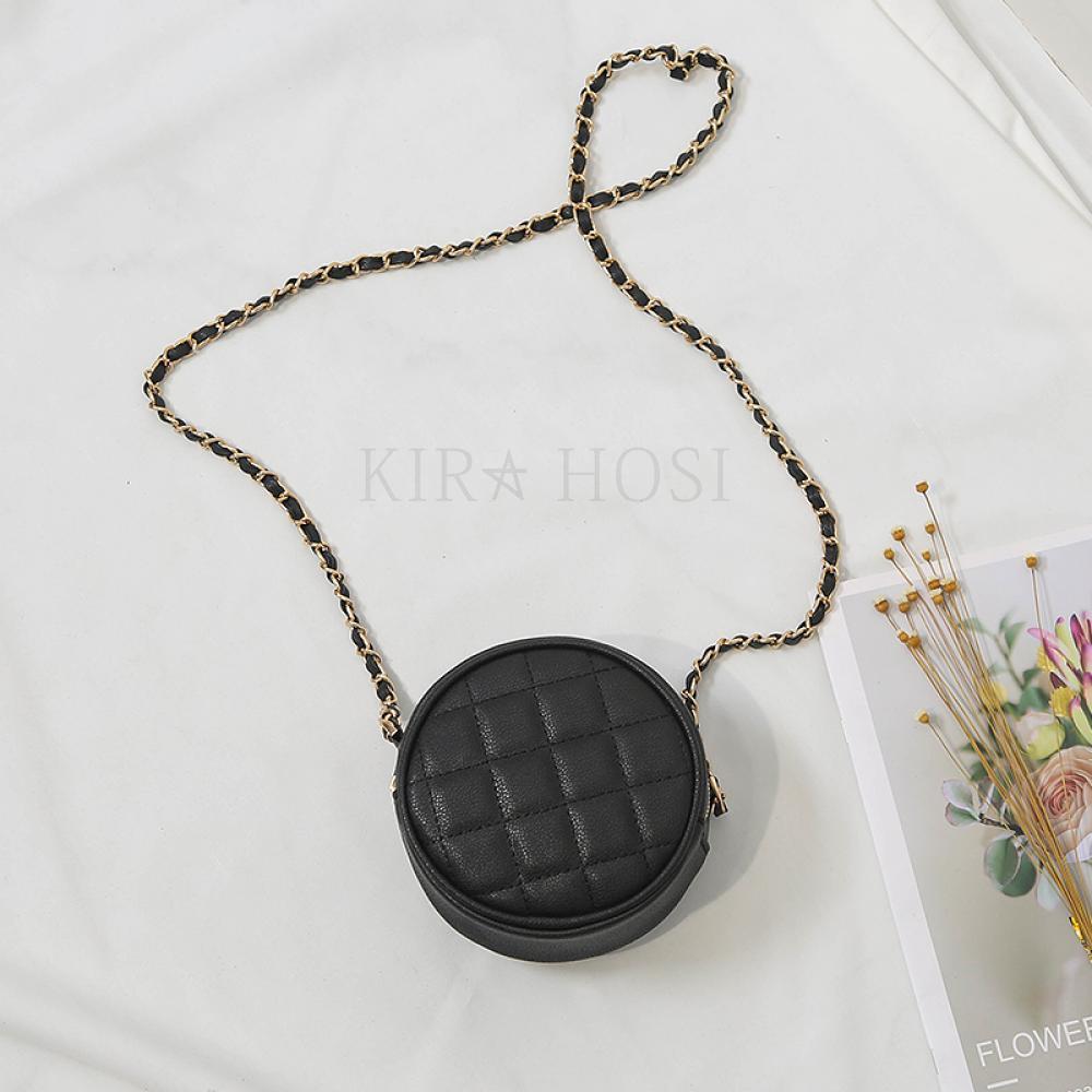 kirahosi 가을 여성 크로스백 체인백 숄더백 캐주얼 핸드백 가방 105 GD8+덧신 증정 APcxujit