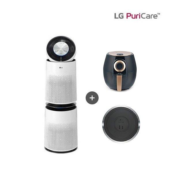 [LG전자] [100㎡] LG 퓨리케어 Puri Care 360˚ 공기청정기 화이트(AS3, 상세 설명 참조