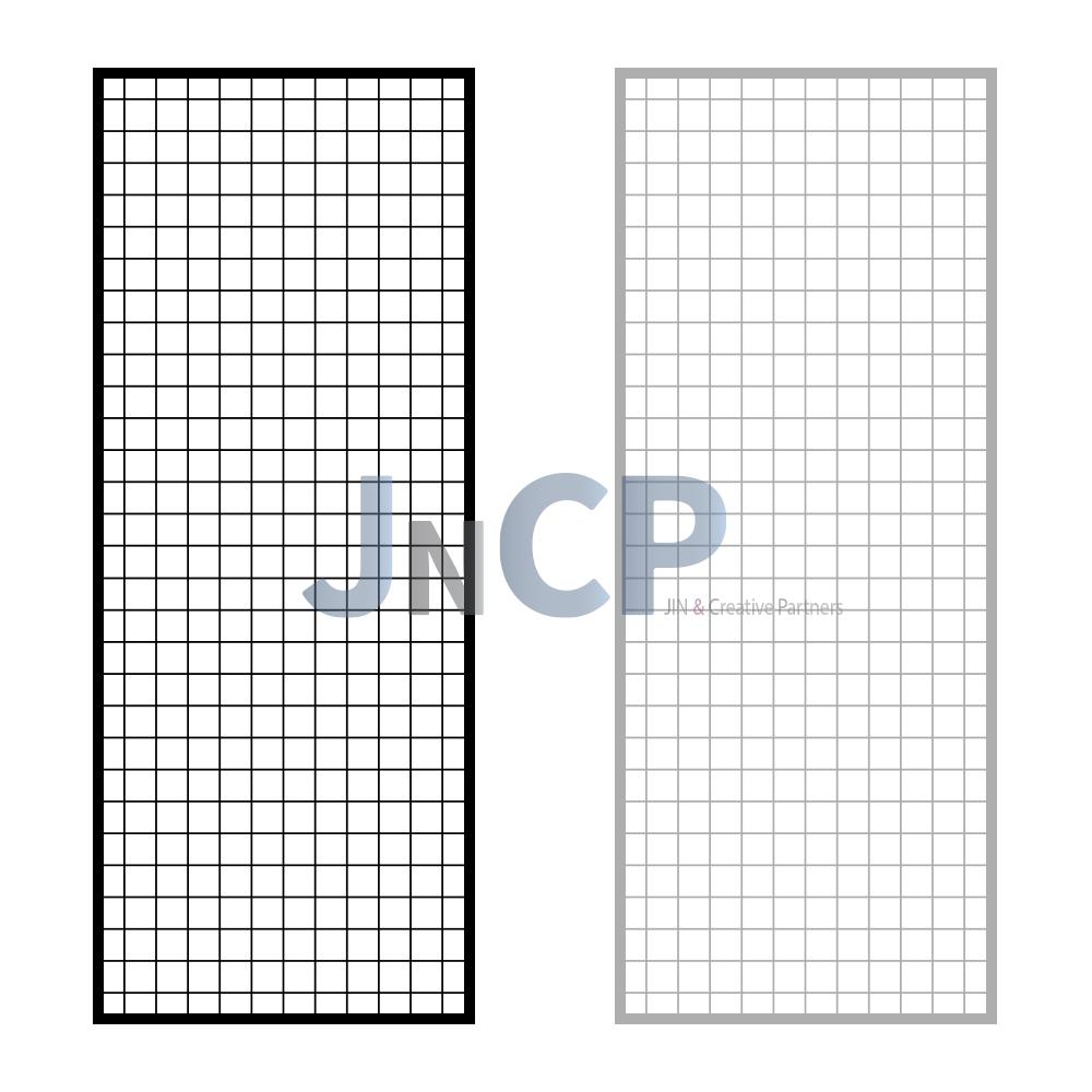 JNCP 휀스망 60x150cm 메쉬망 네트망 철망 악세사리진열대 방묘 후크, 1개