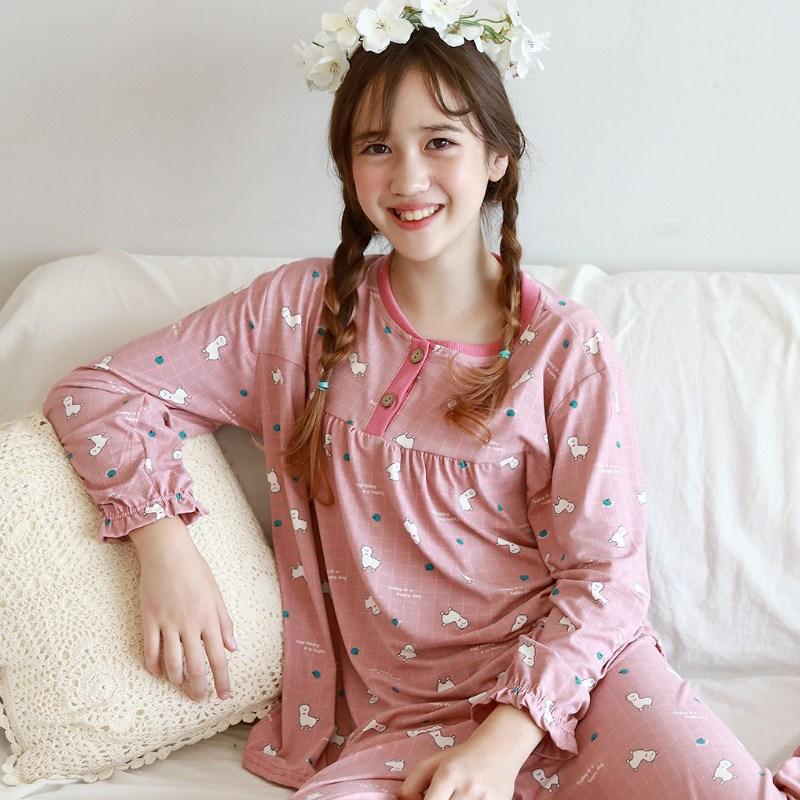 모스트맘 밀크기모 주니어세트 큐트라마 잠옷