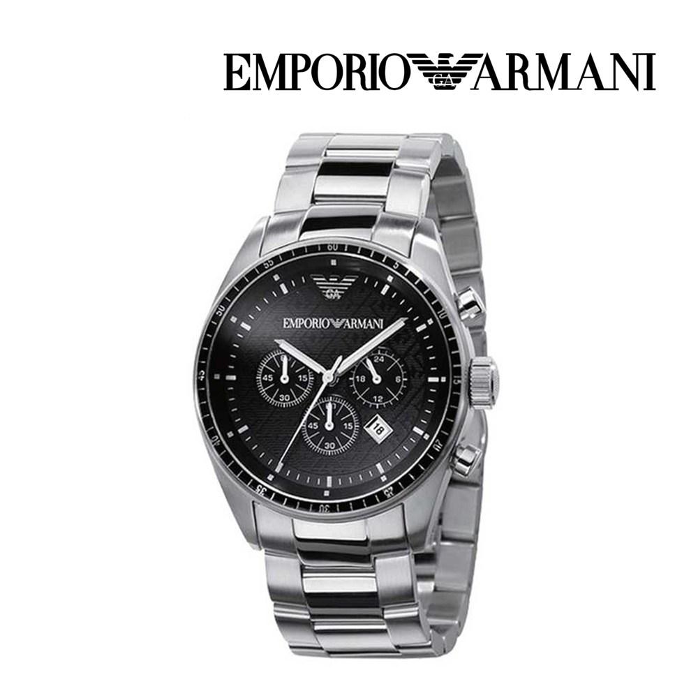 엠포리오 아르마니 남자 메탈 손목시계 AR0585