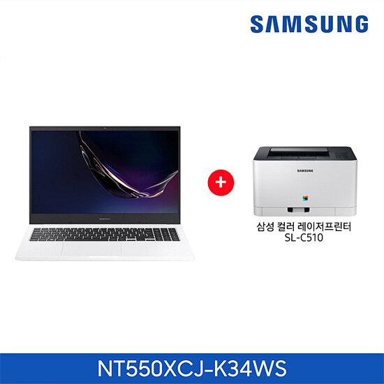 [신세계TV쇼핑](+삼성 레이저프린터)삼성 노트북 Plus 일반팩 NT550XCJ-K34WS (코어i3/4GB/128GB), 단일상품, 단일상품, 단일상품