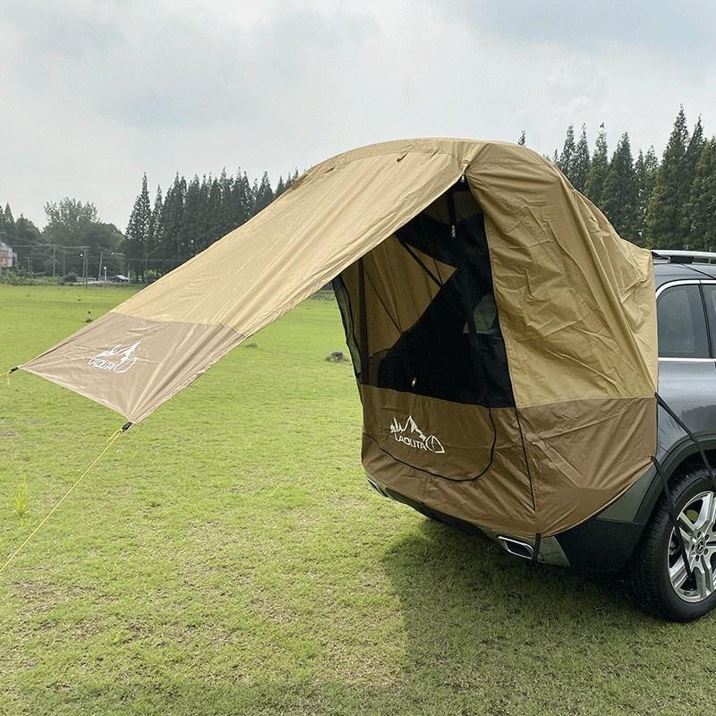 Aris 차박 텐트 SUV 도킹 카크닉 카텐트 확장형 캠핑 티볼리 싼타페 카니발 QM6