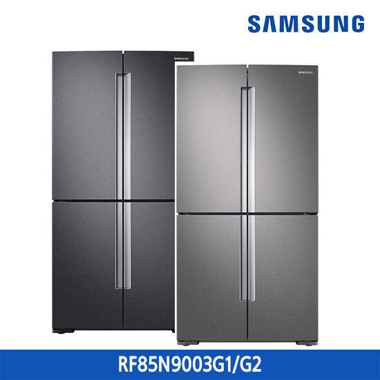 삼성 지펠 냉장고 T9000 4도어 856L RF85N9003G1/RF85N9003G2, 색상:다크 그레이