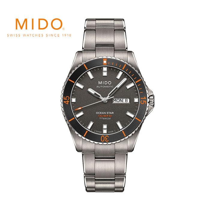 M026.430.44.061.00 미도 MIDO 티타늄 다이버 시계
