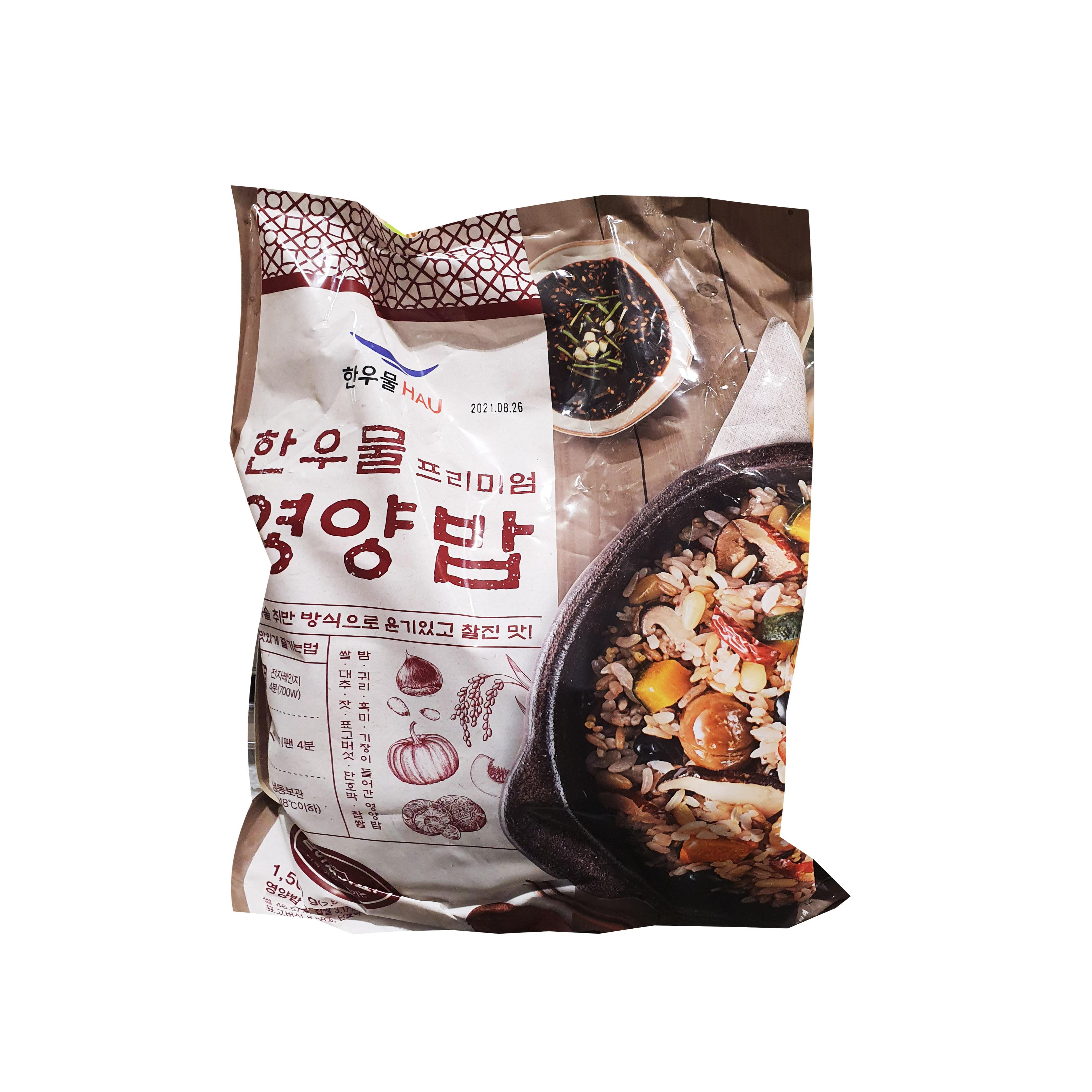 [퀴클리몰] 한우물 프리미엄 영양밥 300g x 5, 상세 설명 참조, 상세 설명 참조, 상세 설명 참조