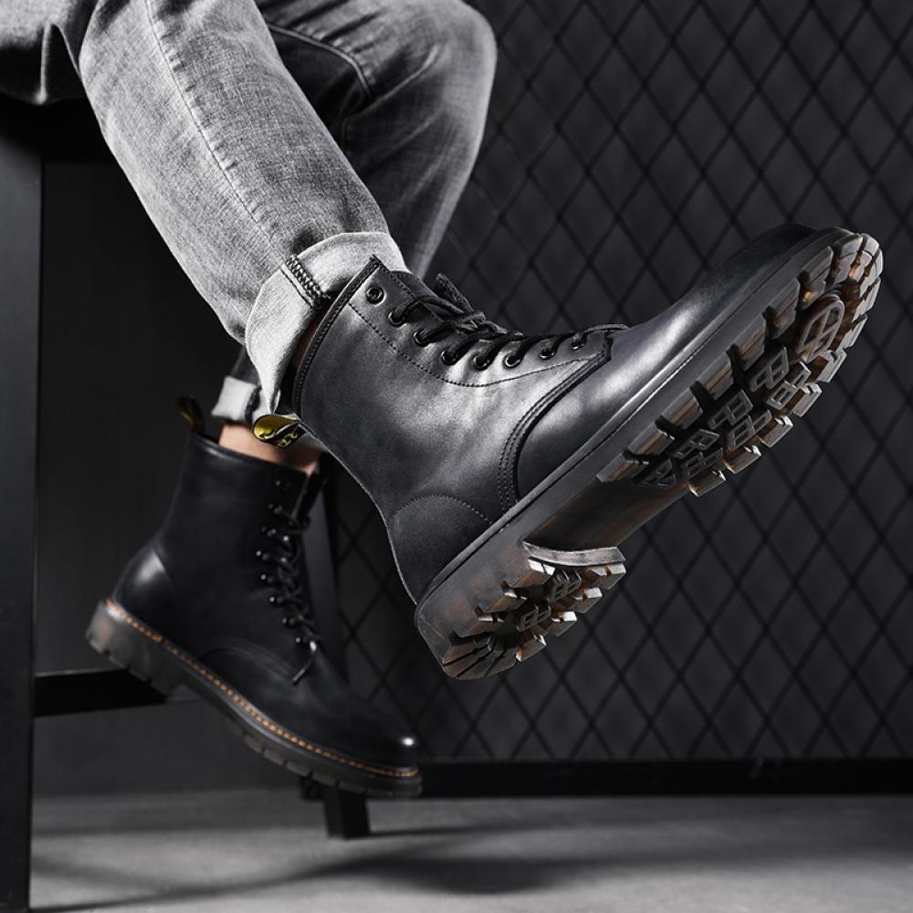 kirahosi 스페셜 겨울 워커 가을 남성 패션 스니커즈 남자 캐주얼 부츠 신발 구두 컴포트화 212 GM 11 DA41ds5m