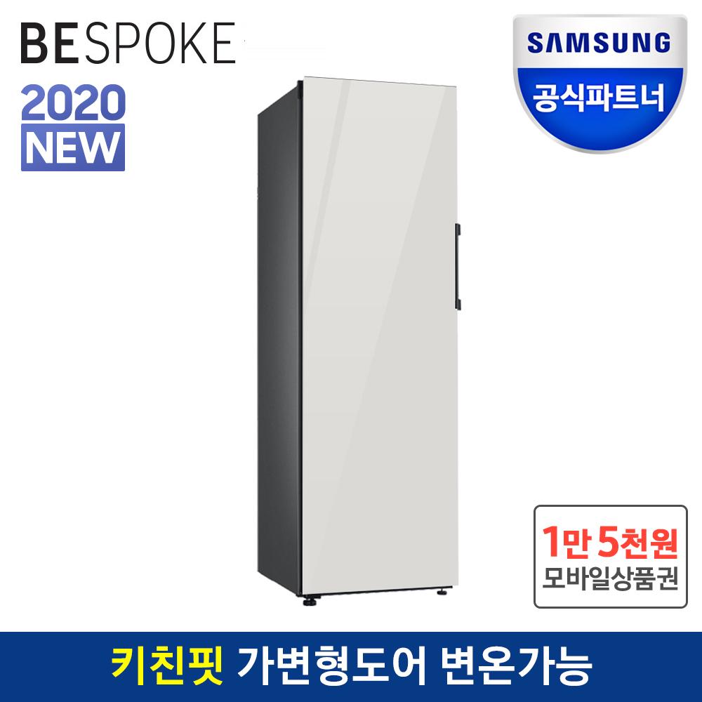 공식파트너 삼성 비스포크 김치냉장고 1도어 RQ32T7602AP01 코타화이트
