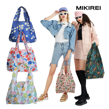 MJST MIKIREY 방수 에코 스텐다드 바쿠 백 휴대 접이식 가방