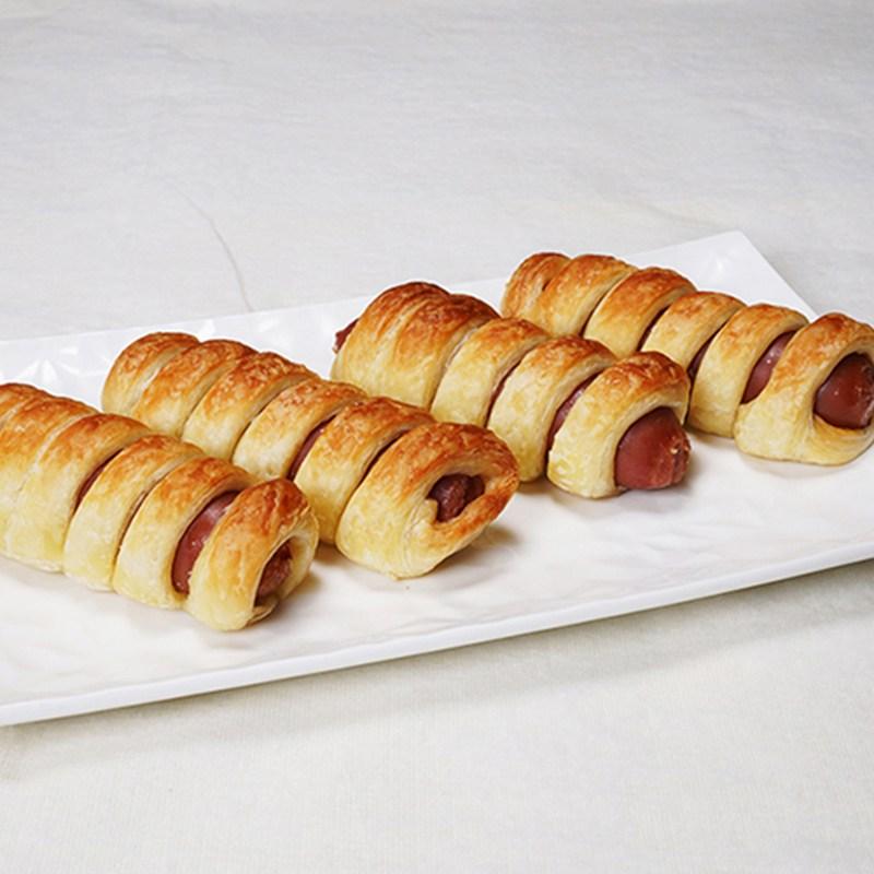 [푸름 제빵소] 수제 페스츄리 롤링핫도그(80g 13개), 1set, 1040g