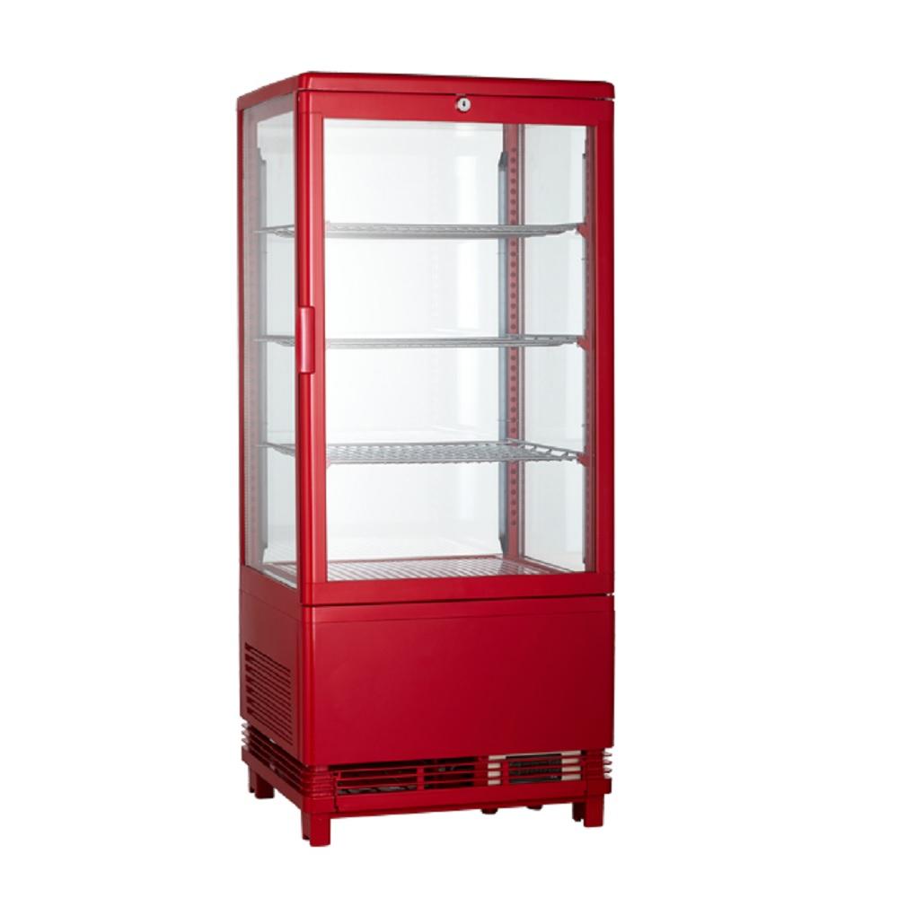 한국와이오티 냉장쇼케이스 RTW-78L-1L 블랙 레드 색상 선택가능 무료운임, RTW-78L-1L(색상: 레드)