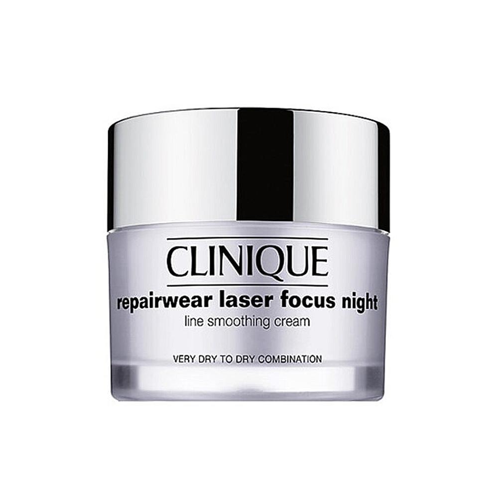 크리니크 리페어웨어 레이저 포커스 나이트 수분 크림 Laser Focus Night Cream 얼굴 목 주름 개선 50ml