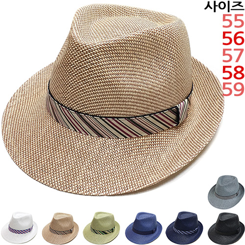 이럭셔리클럽 고급형 디자인 중절모 페도라 여름모자 남녀공용-CAP180511