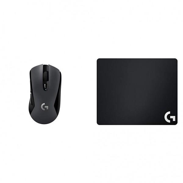 [독일구매대행] (광 센서 영웅) 로지텍 G603 무선 게임 마우스 + 로지텍 G240 게이밍 마우스 패드, 단일상품, 단일상품
