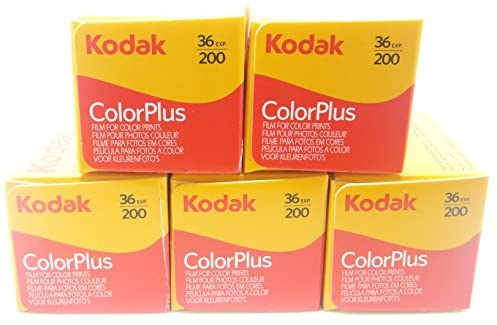 [해외직구]Kodak colorplus 200 ASA 36 노출, 1개, One Color_One Size