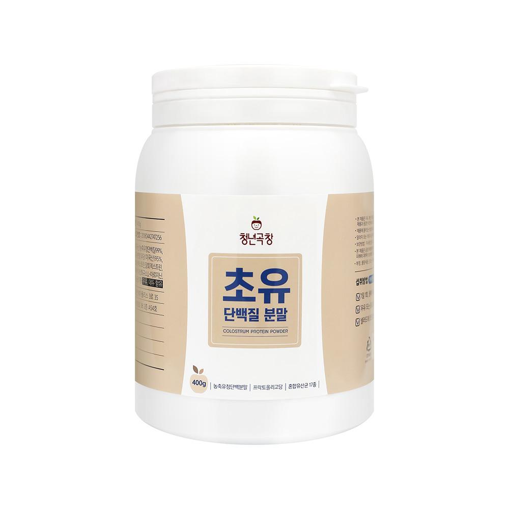 청년곡창 초유단백질 분말 400g