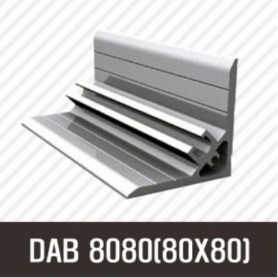 앵글DAB 8080(80X80) 50mm/ 100mm/ 200mm/ 500mm/ 1000mm/ 1500mm/ 2000mm/앵글/프로파일 부품/ 프로파일/ 알미늄/ 대영, 50mm