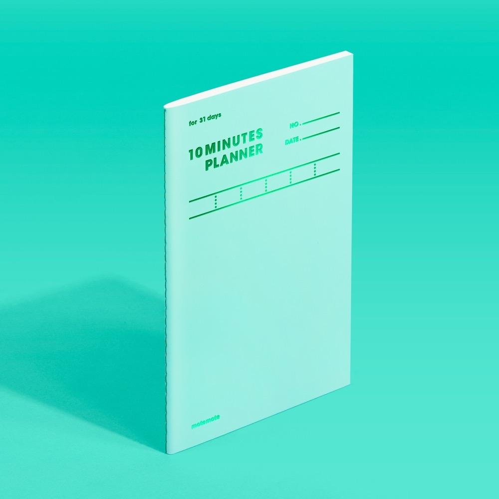 모트모트 텐미닛 플래너 31days - 그리너리