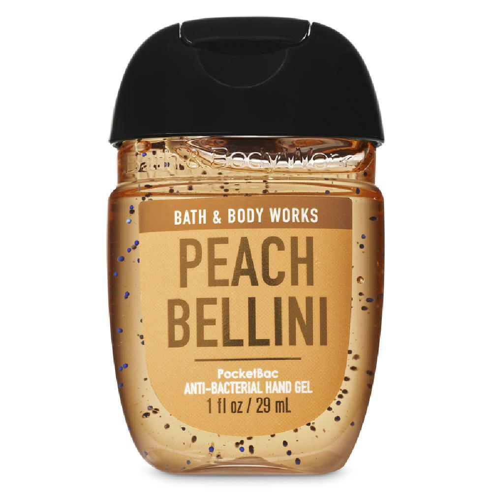 배쓰앤드바디워크 포켓 박 안티-박테리얼 핸드 젤, 피치 벨리니 (Peach Bellini), 1개
