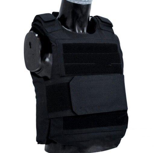 방탄 조끼 보호복 경찰복 전술조끼 밀리터리조끼 배틀 서바이벌, 검정