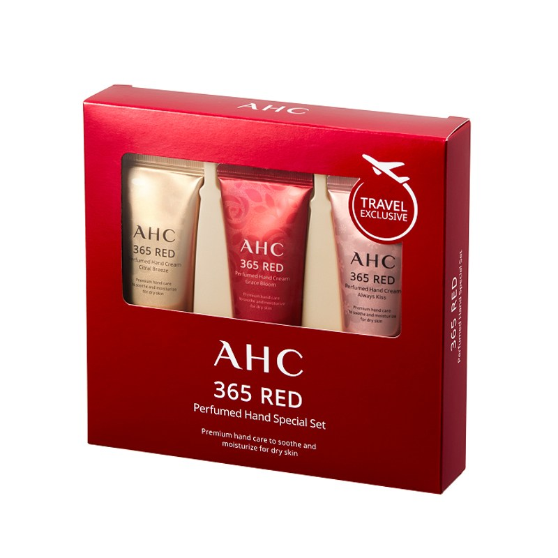 AHC 365레드 퍼퓸 핸드 스페셜 세트 30ml 3개 세트