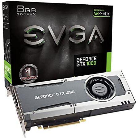 EVGA GeForce GTX 1080 GAMING 8GB GDDRX DX12 OSD Support (PXOC) Graphics Card 08G-P4-5180-KR (Rene, 상세 설명 참조0
