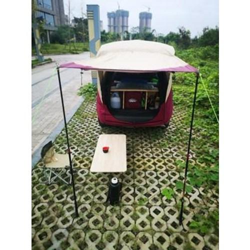 차량용 텐트 루프탑 출구야외 자율여행 캠핑카 지붕가로 꼬리 텐트 천막 연장 초경속 방비 모기 방비, 01 대추나무