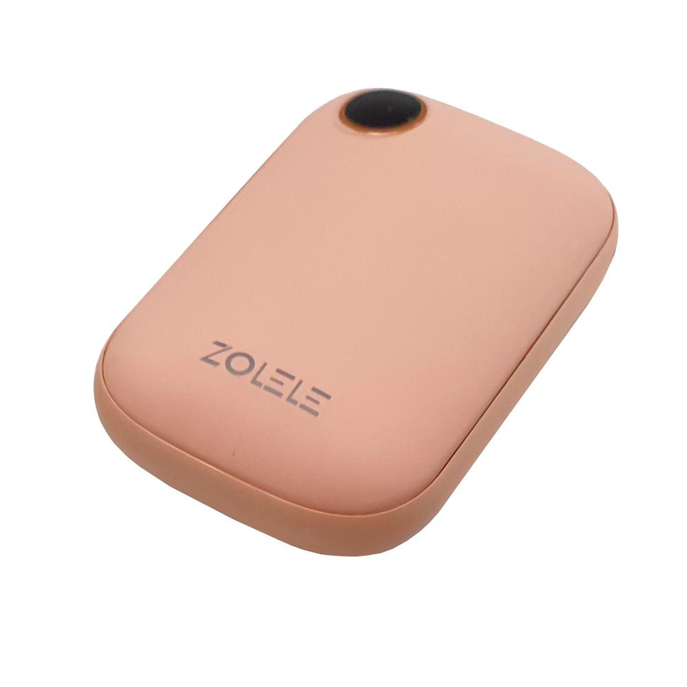 조엘리 대용량 충전식 휴대용 손난로 보조배터리, 핑크