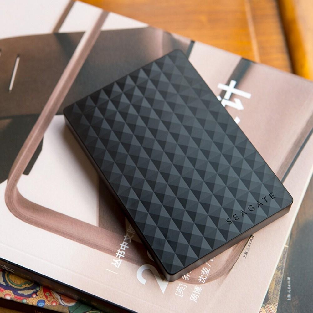 씨게이트 외장하드 이동 하드디스크 1테라 USB3.0 STBX1000 1T, 블랙, 1TB