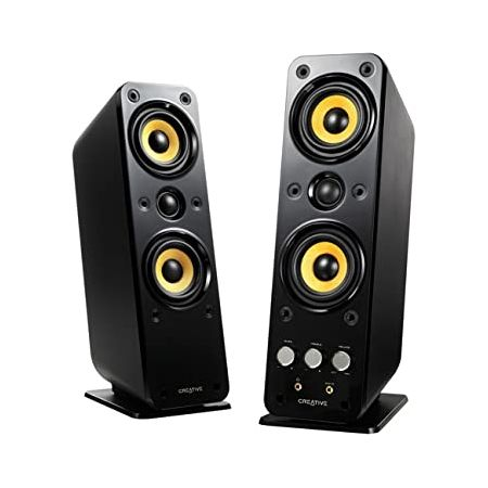 Creative GigaWorks T40 Series II 2.0 Multimedia Speaker System with BasXPort Technology Black 9999, One Color, 상세 설명 참조0
