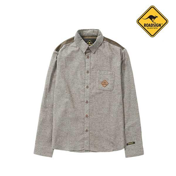 로드사인 [로드사인] P 유니 백패널 셔츠-RDSX701A_BE