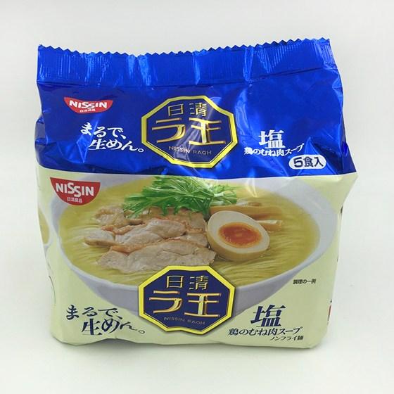 [이라운드몰]닛신 라오 라면 소금맛(5개입), 단품