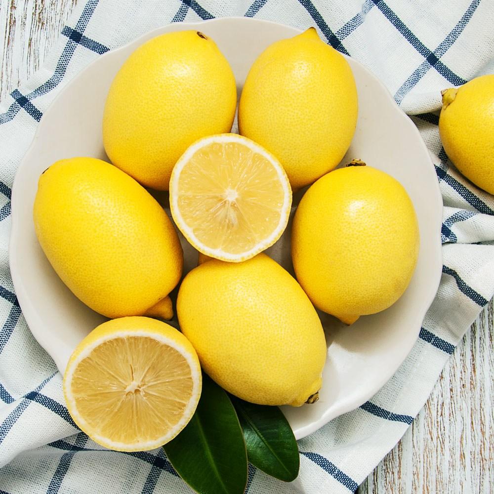산정마을 정품 팬시레몬, 레몬 20개(개당100g내외), 1박스
