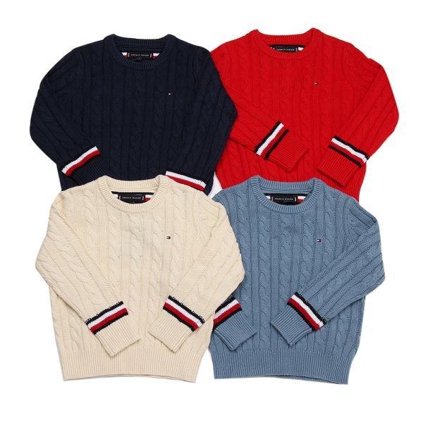 [갤러리아] 타미힐피거키즈케이블 스웨터(T42A7WWO026BT1)