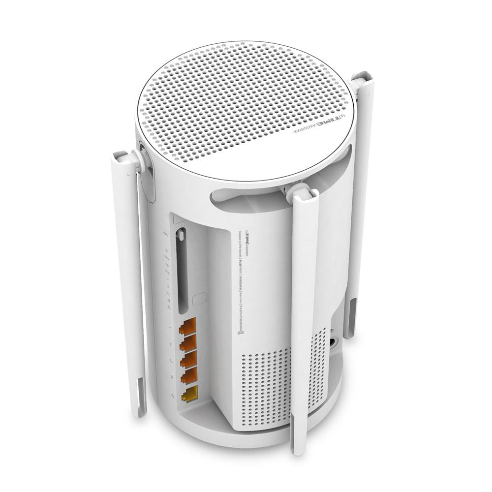 EFM 아이피타임 ipTIME A6004MX 와이파이 기가 무선 공유기 (화이트), 단일상품