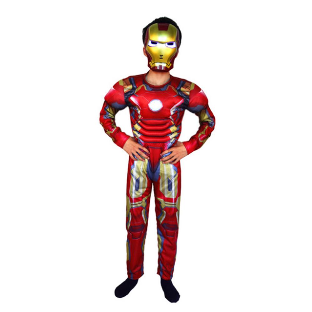 WG 어벤져스 아동용 옷 아이언맨 캡틴 아메리카 트랜스포머 코스튬 슈트 할로윈