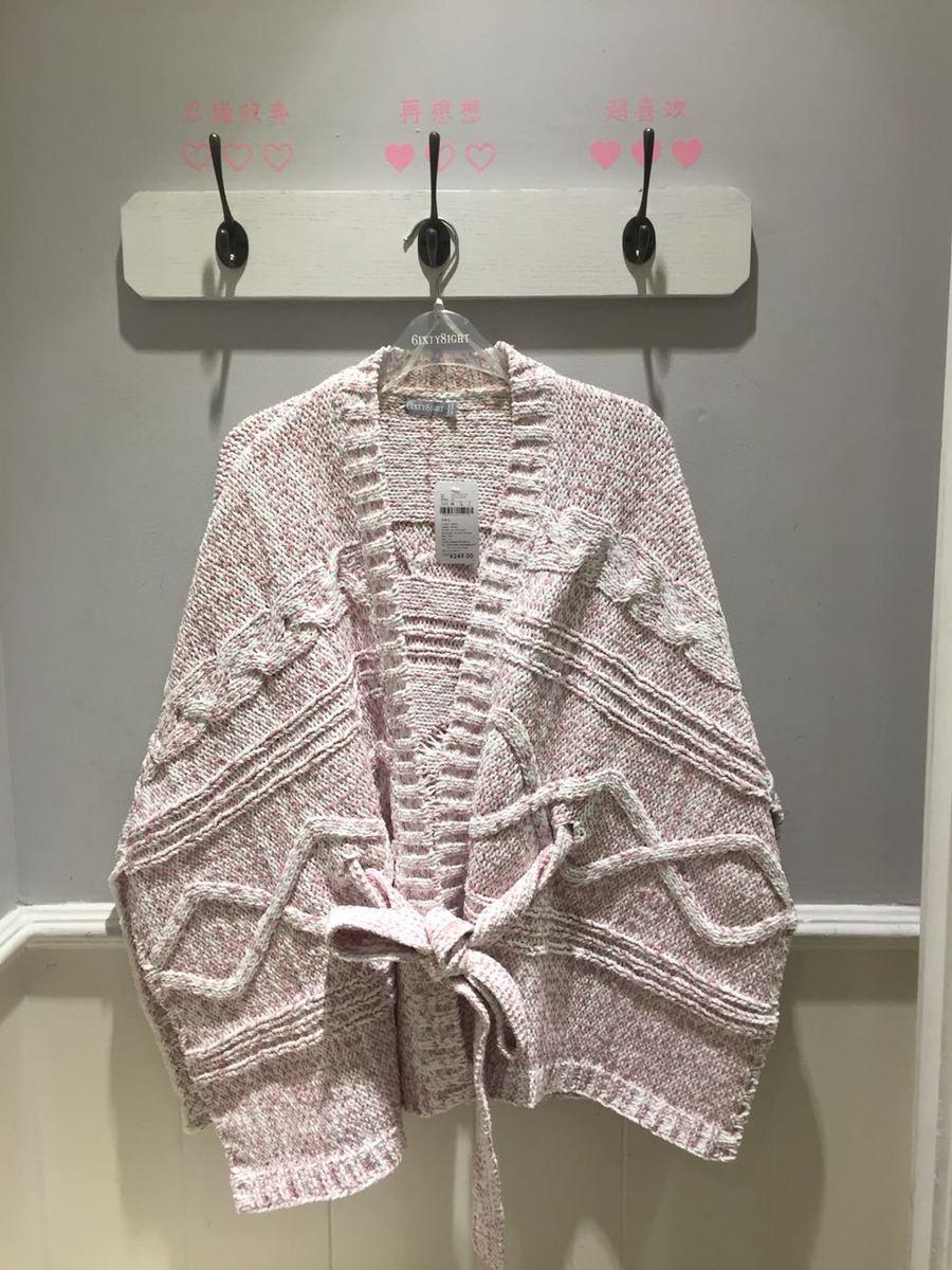 트위드가디건 68 6ixty8ight카디건 스웨터 여성숄 아우터 신제품