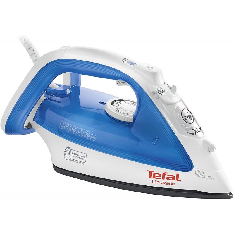 Tefal FV4040 Ultraglide 스팀 다리미 2400W Durilium Technology, 단일상품