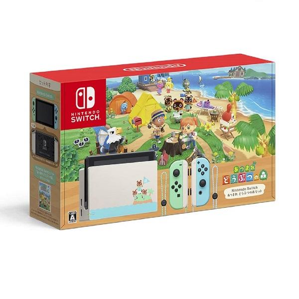 Nintendo Switch 닌텐도 스위치 신품 배터리 개선판 색상2종 네온블루레드 그레이 해외직배송 한글지원제품 추가요금 없음, 모여봐요 동물의 숲