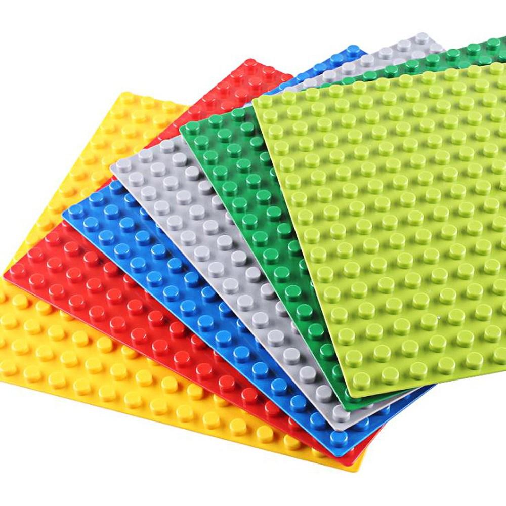 토이다락방 레고 클래식 대형 블럭 놀이판 레고판, 레고판 50x50칸 - 핑크