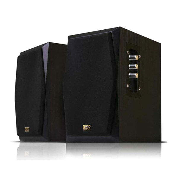 BonoBoss BOS-H1 스피커 블랙 (AC 전원), 선택하세요