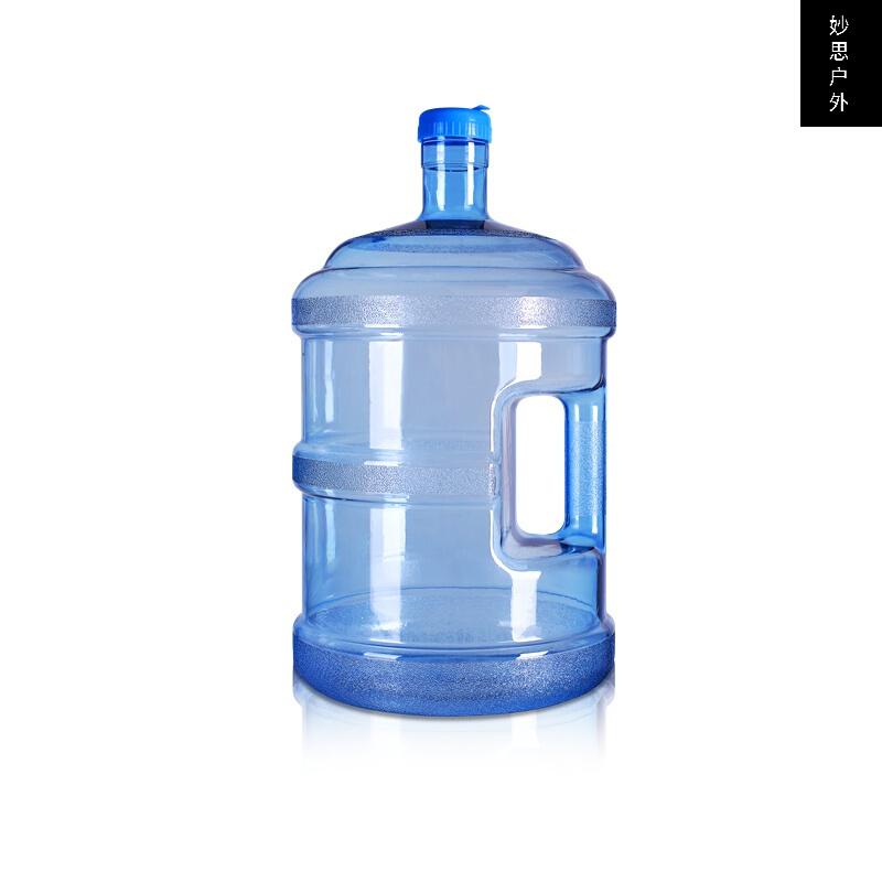 실외 식품 급 물통 두께 첨가 하 다 드럼통 플라스틱 생수 통 조립 하 다 물통 차고 물통 소형 대 휴대용 휴대용 물통 5 리터, 상세페이지 참조, 상세페이지 참조