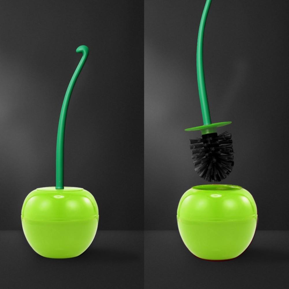 자취 필수템 체리 사과 과일 변기 솔 청소도구, B